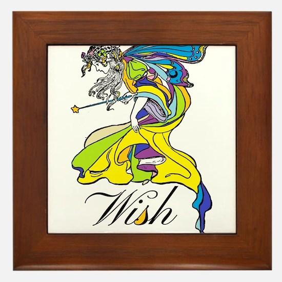Faerie Wish Framed Tile