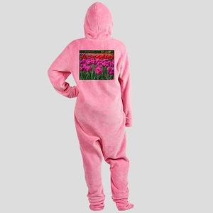 Tulip Field Footed Pajamas
