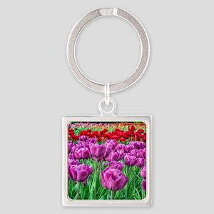 Tulip Field Keychains