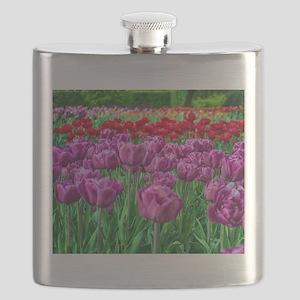 Tulip Field Flask