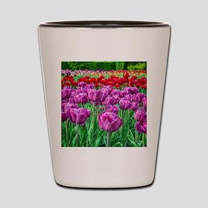 Tulip Field Shot Glass