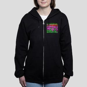 Tulip Field Women's Zip Hoodie