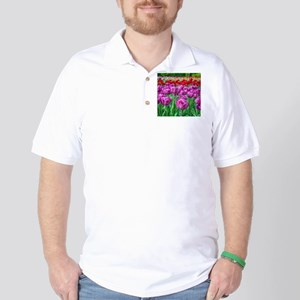 Tulip Field Golf Shirt