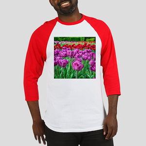 Tulip Field Baseball Jersey