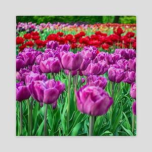 Tulip Field Queen Duvet