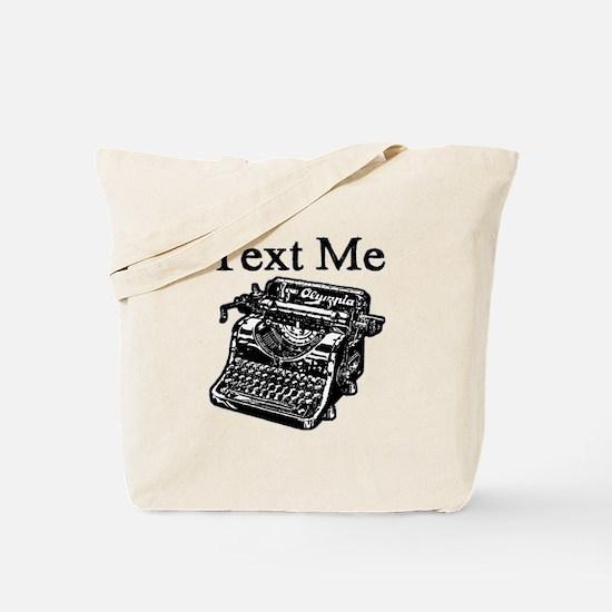 Text Me-Typewriter-1 Tote Bag