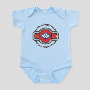 Arkansas Boxing Infant Bodysuit