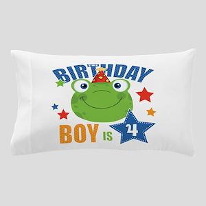 Birthday Frog Pillow Case