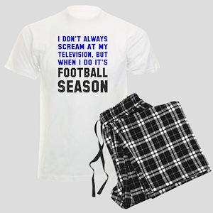 Football Season Men's Light Pajamas