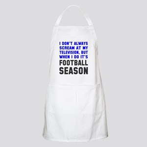Football Season Apron