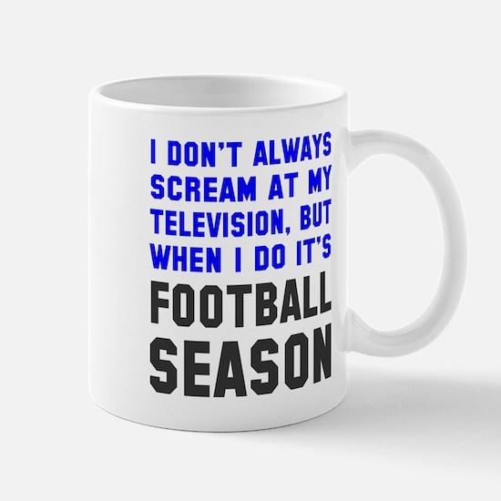 Football Season Mug