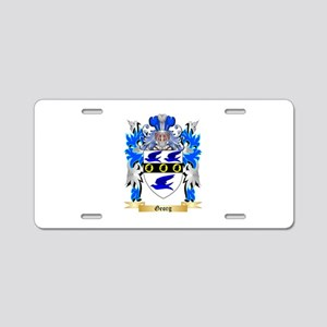 Georg Aluminum License Plate