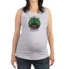 Peas On Earth Maternity Tank Top