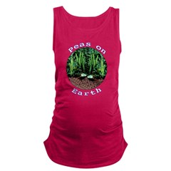 Peas On Earth Maternity Tank Top