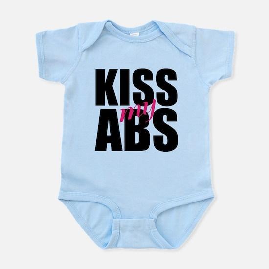 Kiss My Abs Infant Bodysuit