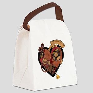 ClockworkHeart Canvas Lunch Bag