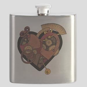 ClockworkHeart Flask