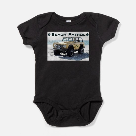 Beach Patrol Bronco Infant Bodysuit Body Suit