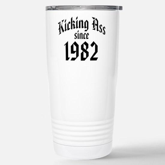 Kicking Ass 1982 Stainless Steel Travel Mug