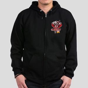 Marvel Falcon Zip Hoodie (dark)