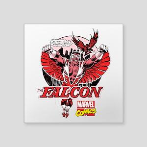"""Marvel Falcon Square Sticker 3"""" x 3"""""""