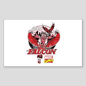 Marvel Falcon Sticker (Rectangle)