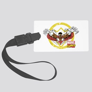 Falcon Vintage Large Luggage Tag