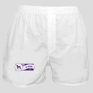 Make Mine Pumi Boxer Shorts