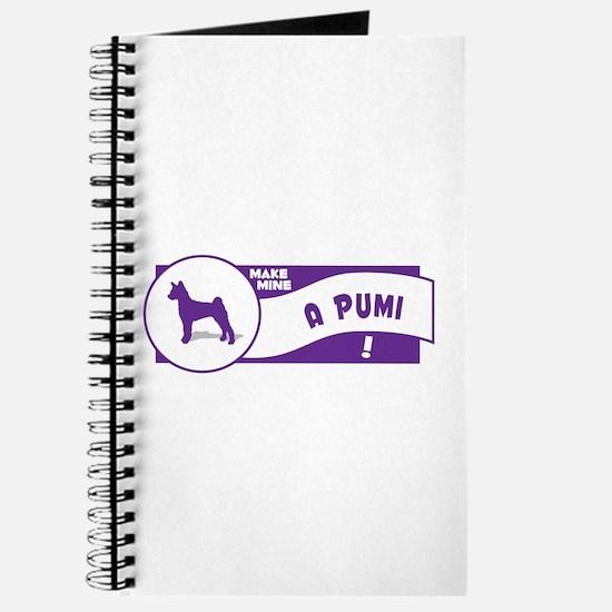 Make Mine Pumi Journal