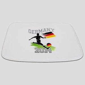 Soccer GERMANY Flag Bathmat