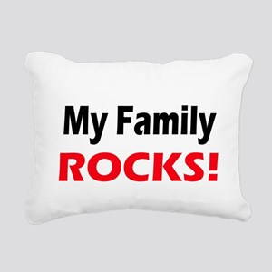 myfamilyrocks Rectangular Canvas Pillow