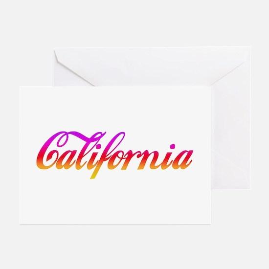 California Sunset Greeting Cards (Pk of 10)