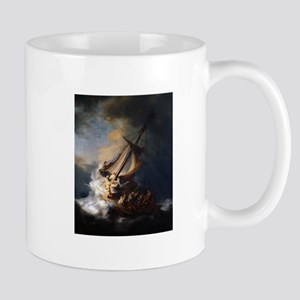 Christ In The Storm Galilee Mugs