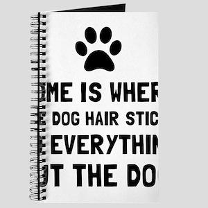 Dog Hair Sticks Journal