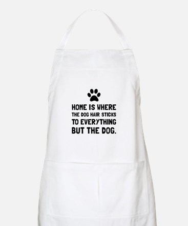 Dog Hair Sticks Apron