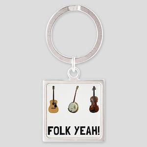 Folk Yeah Keychains