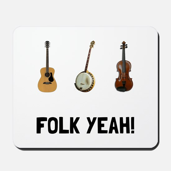 Folk Yeah Mousepad