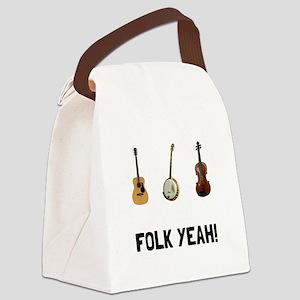 Folk Yeah Canvas Lunch Bag