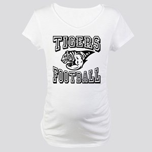 Tigers Football Maternity T-Shirt