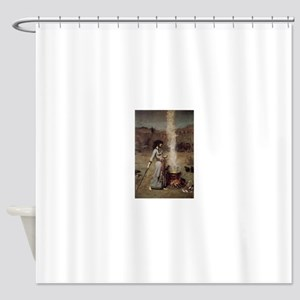 Magic Circle Shower Curtain