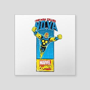 """Flying Nova Square Sticker 3"""" x 3"""""""