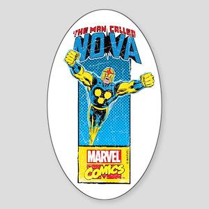 Flying Nova Sticker (Oval)