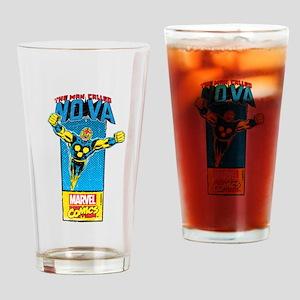 Flying Nova Drinking Glass