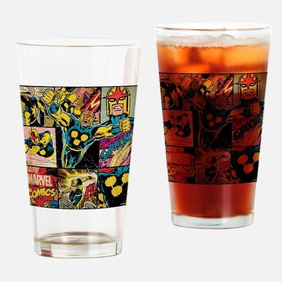Nova Collage Drinking Glass