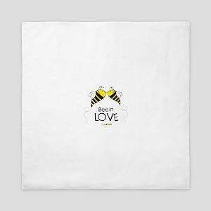 Bee in love Queen Duvet