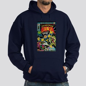 Comic Book Cover Nova Hoodie (dark)