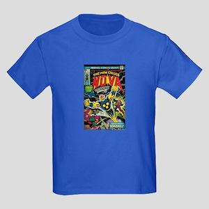 Comic Book Cover Nova Kids Dark T-Shirt