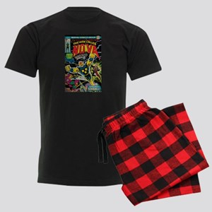 Comic Book Cover Nova Men's Dark Pajamas