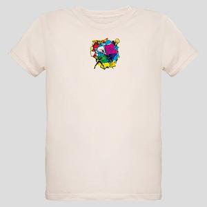 Color Burst Nova Organic Kids T-Shirt