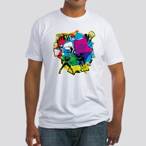 Color Burst Nova Fitted T-Shirt